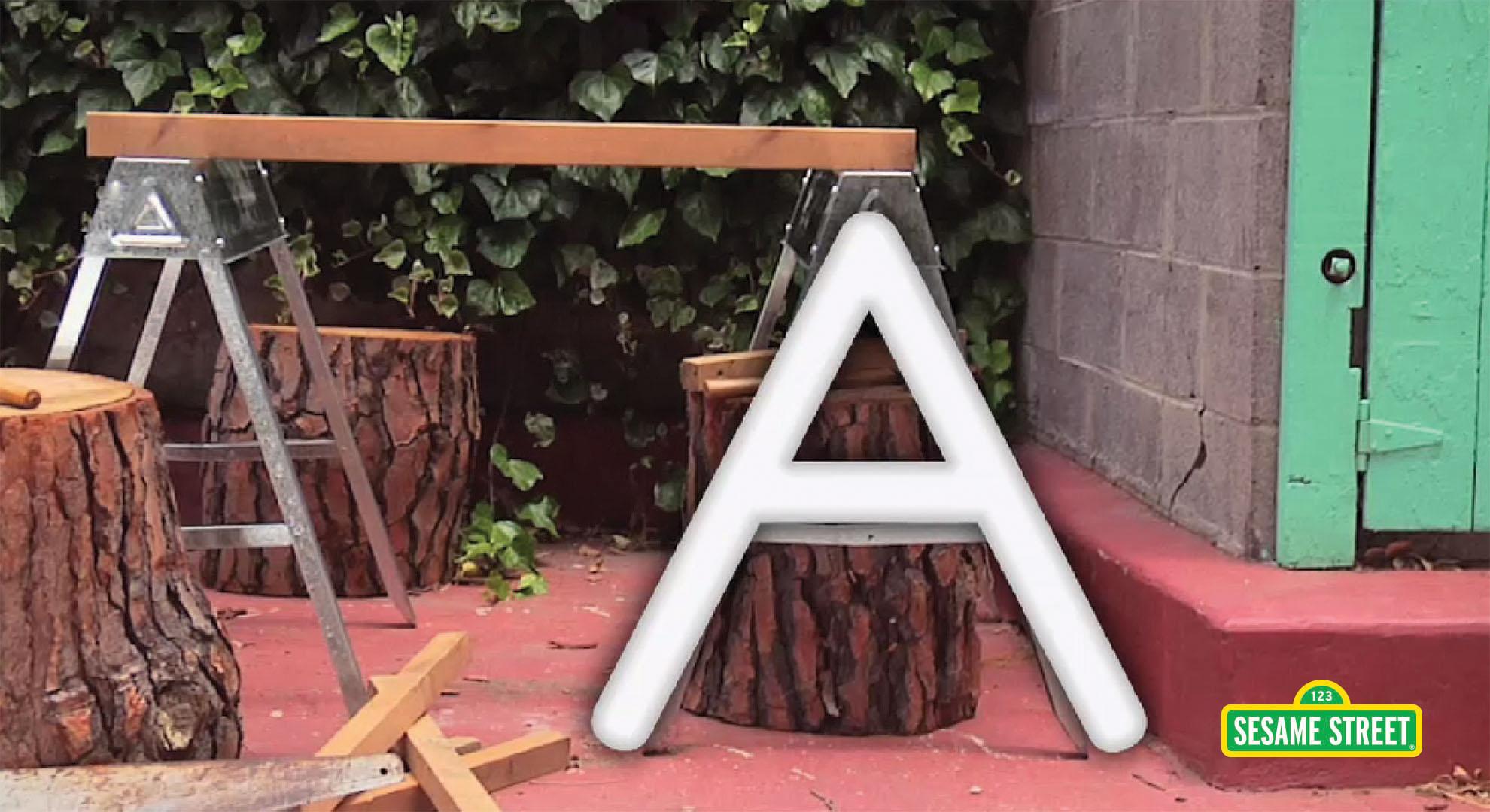 Find the Hidden Letter A | Sesame Street
