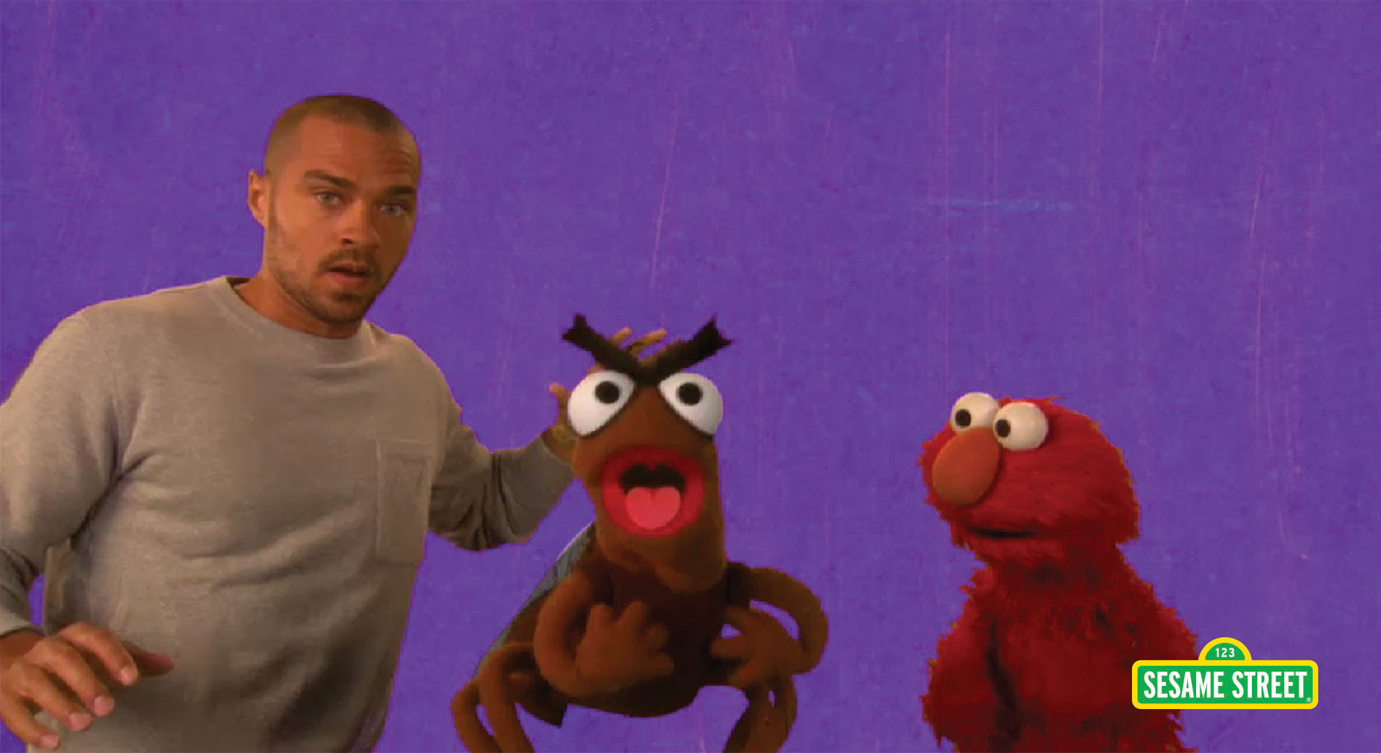 Jesse Williams: Furious | Sesame Street