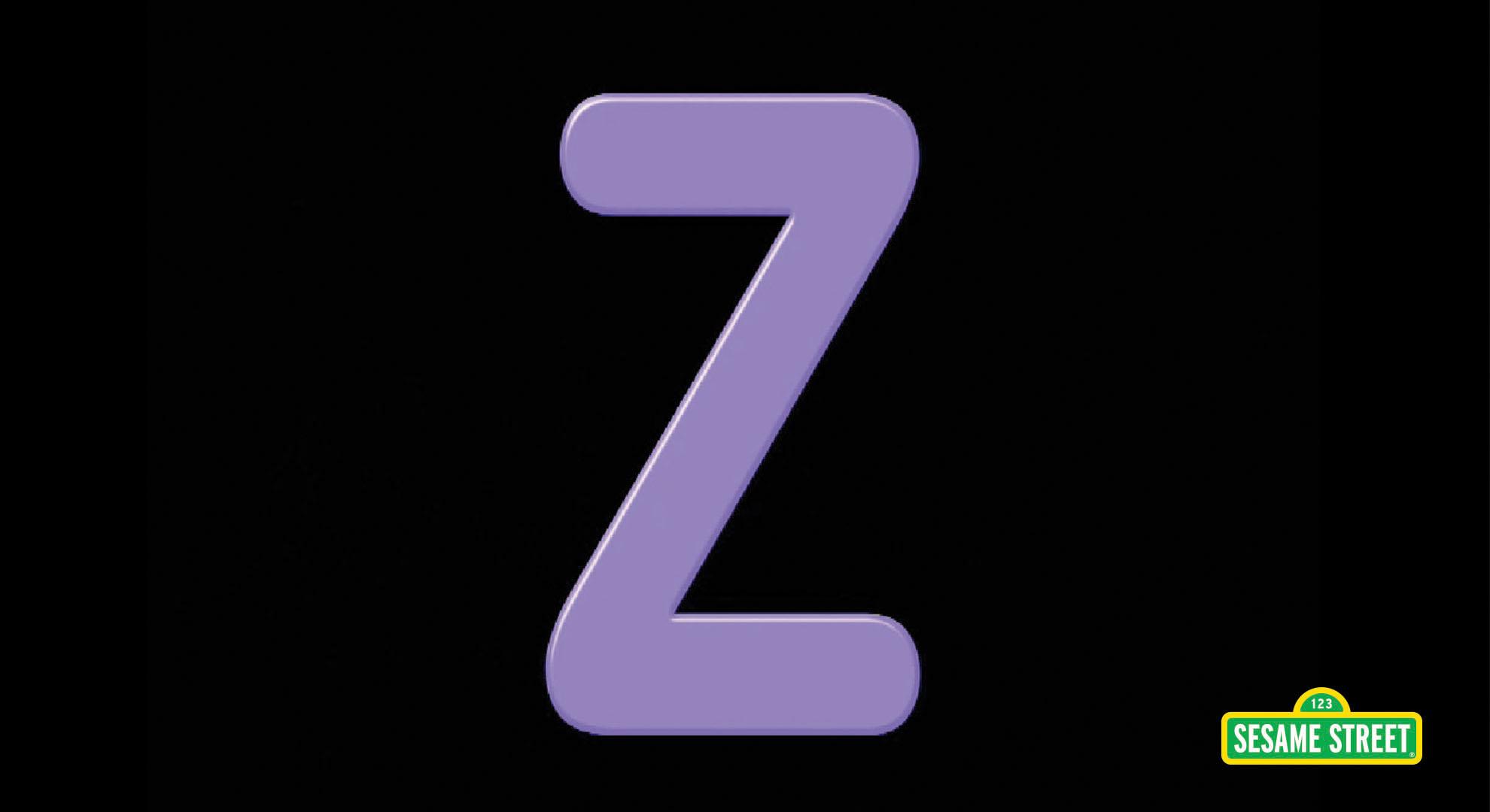 Song: Letter of the Day: Z   Sesame Street