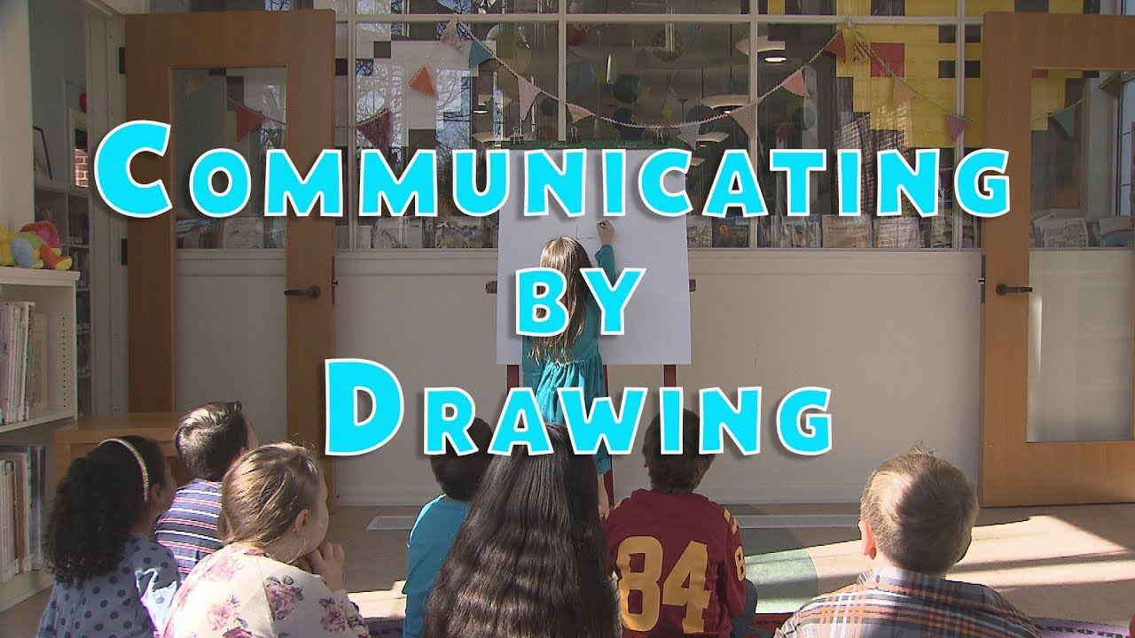 Read a Good Book: Communicating by Drawing