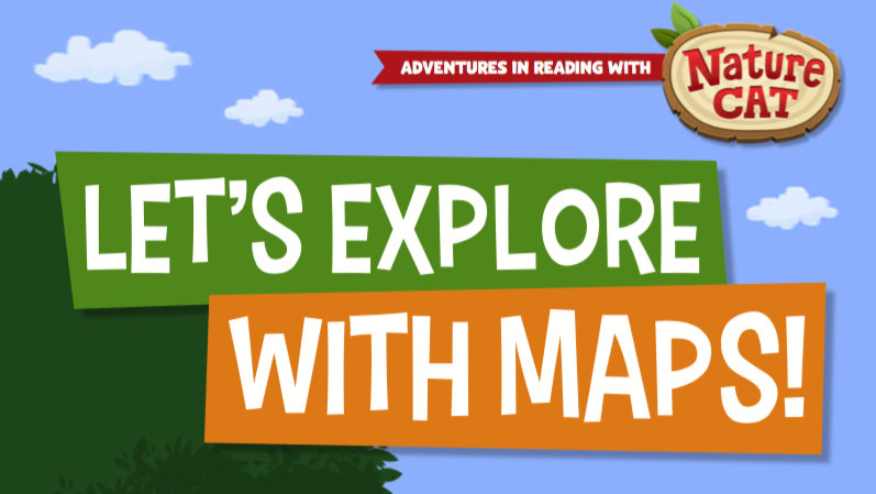 Nature Cat-Lets Explore with Maps!
