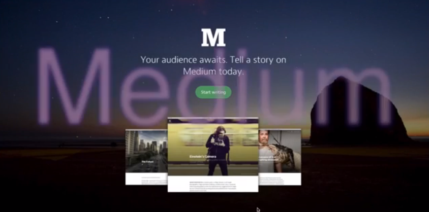 Write and Read Online With Medium