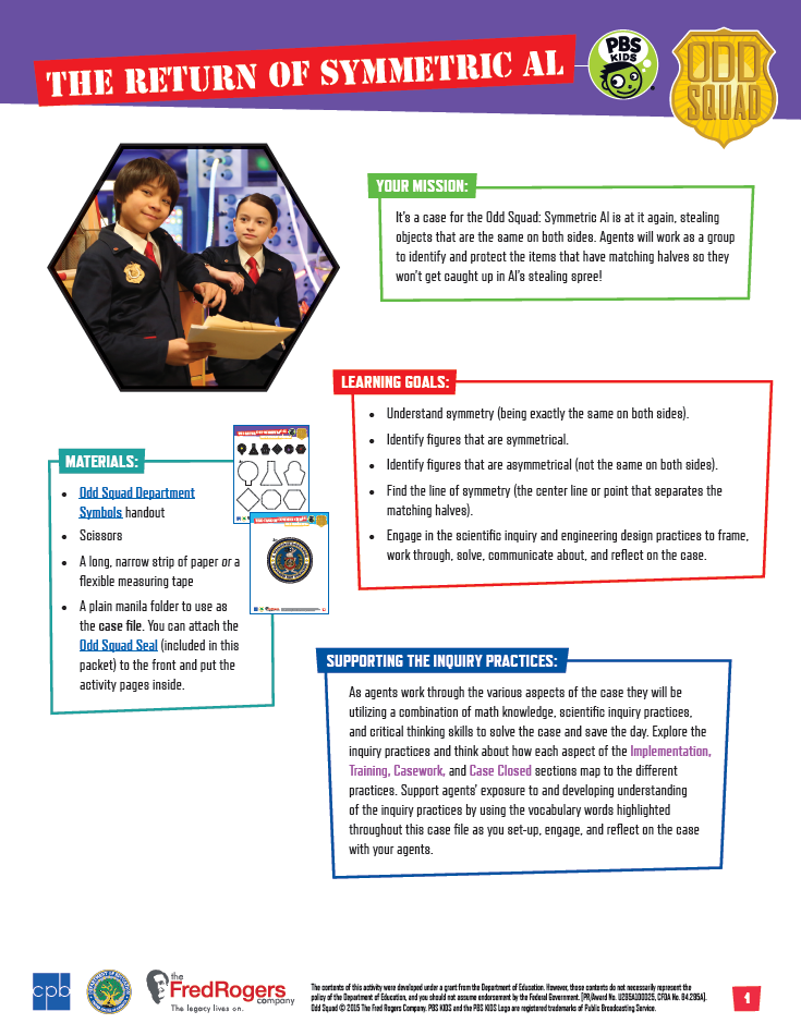 graphic relating to Odd Squad Badge Printable titled Working day 1 - Weird Squad Be the Representative Camp PBS LearningMedia