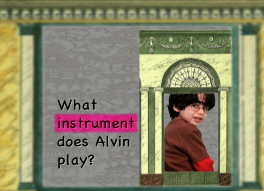 Watch What Instrument Does Alvin Play?