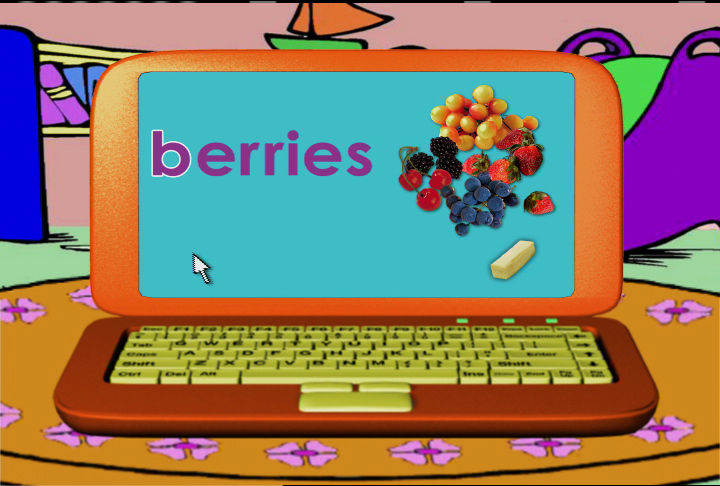 Watch Word Morph: bananas-berries-butter