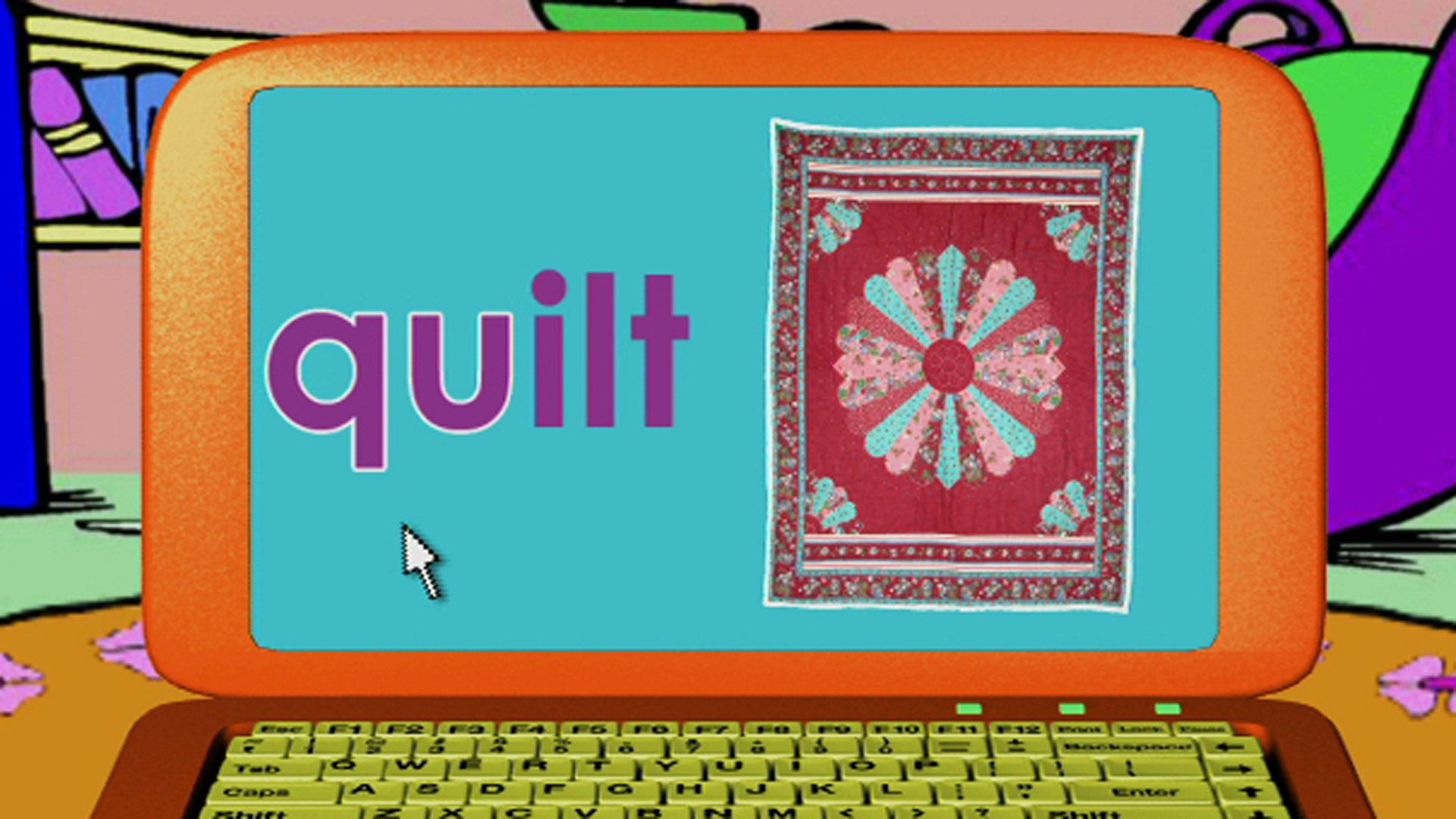 Watch Word Morph: quarter-quail-quill-quilt