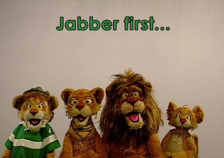 Watch Lions Jabber, Jig, Jog