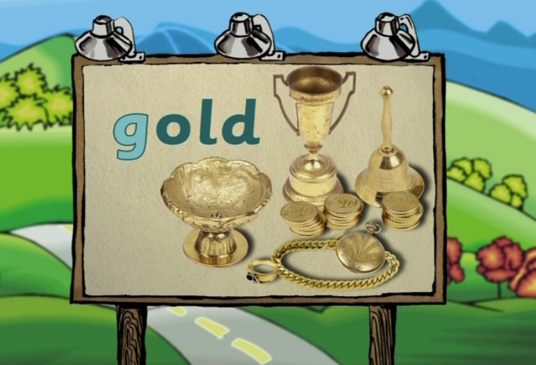 Watch Word Morph: gold-goose-gourd