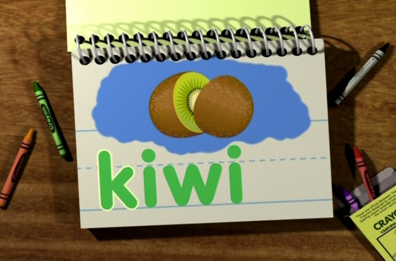 Watch Word Morph: kiwi-kids-kitten-kite