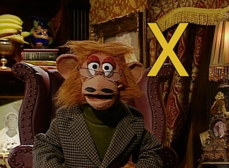Watch Reginald Monkey: x, x-ray, xylophone