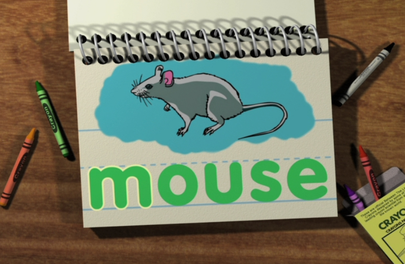 Watch Word Morph: moon-mouse-mice