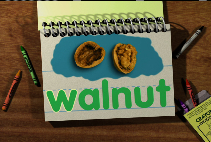 Watch Word Morph: walnut-wave-wave