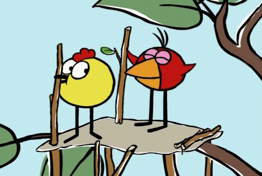 Watch Chirp Builds a Nest