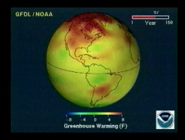 The Warming Trend and the Greenhouse Effect