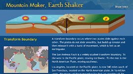 Mountain Maker, Earth Shaker