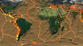 Tectonic Plates, Earthquakes, and Volcanoes