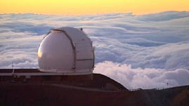 Above the Clouds: Telescopes on Mauna Kea