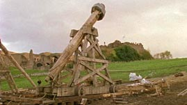 Energy Transfer in a Trebuchet