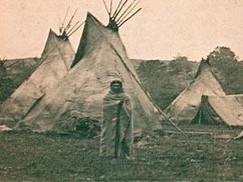 Teepee at Arapaho Encampment