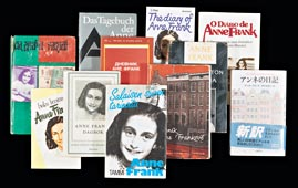 Covers of Published Anne Frank Books