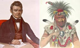 Chief John Ross and Fox Chief