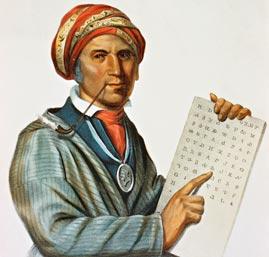 Sequoyah and Cherokee Alphabet