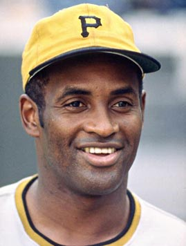 Clemente in uniform