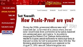 Test Yourself: How Panic Proof are You?