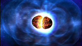 Colliding Neutron Stars Create Black Hole and Gamma-ray Burst