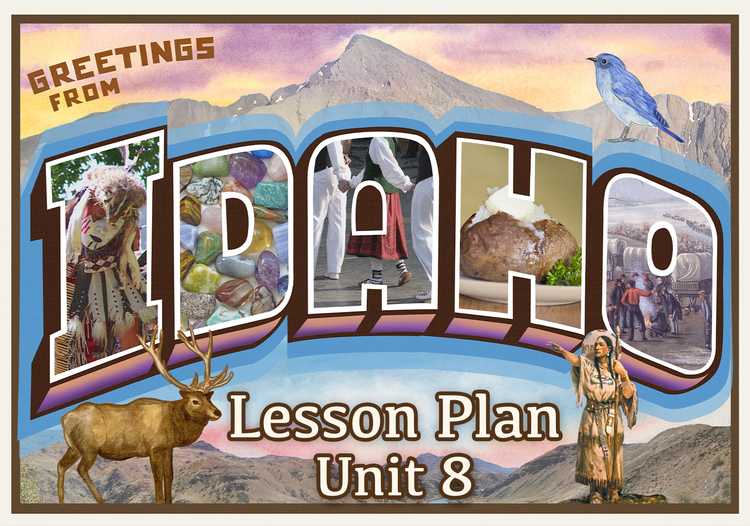 Idaho Unit 8 State Symbols Great States Pbs Learningmedia