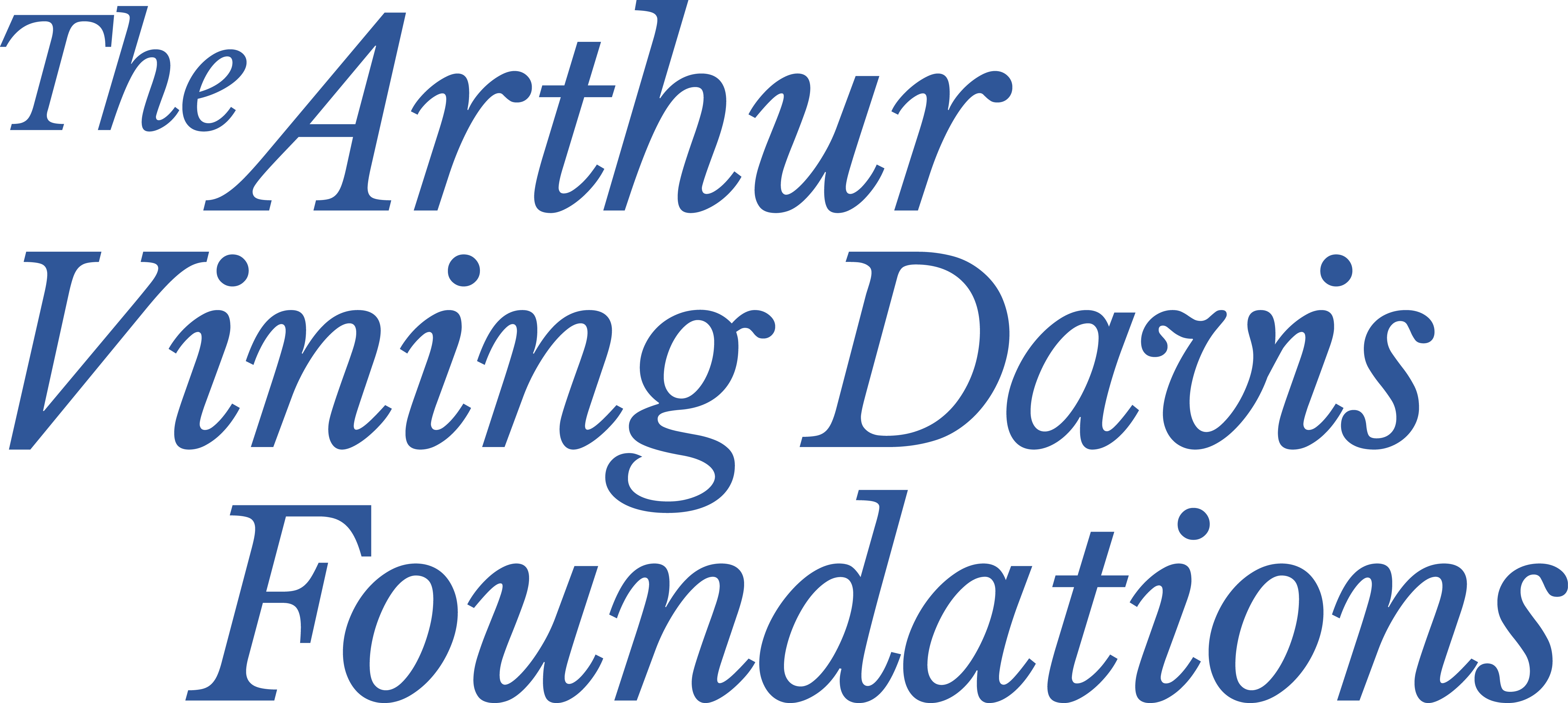 The Arthur Vining Davis Foundations | Color and Grayscale | 2018