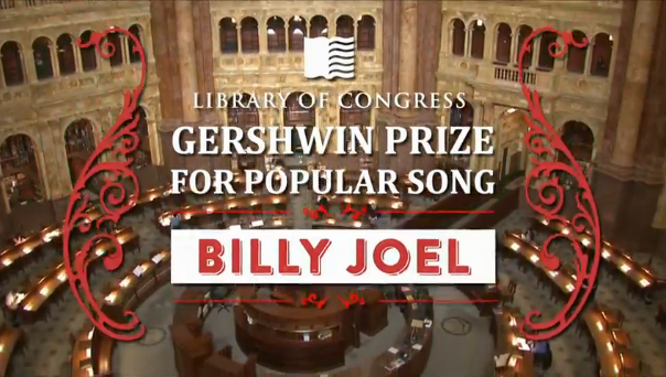 Billy Joel: The Library of Congress Gershwin Prize