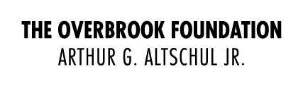 Funder: Overbrook Foundation/Arthur G. Altschul Jr.