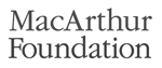 Funder: The John D. and Catherine T. MacArthur Foundation-grayscale