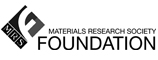 Funder: Materials Research Society Foundation