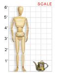 Tea Set, 2004: scale image