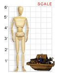 Noah's Ark, 1992: scale image