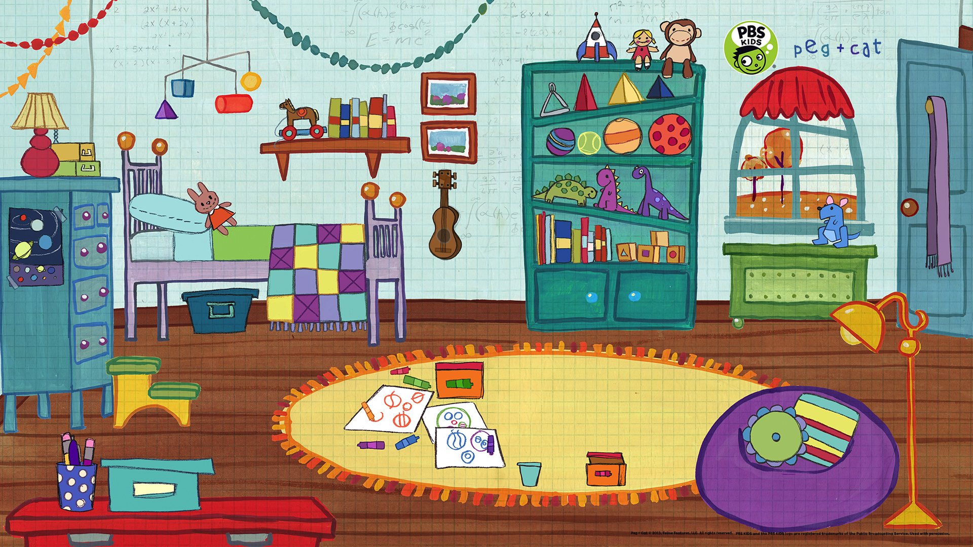 Distance Learning In Style Virtual Backgrounds From Pbs Education