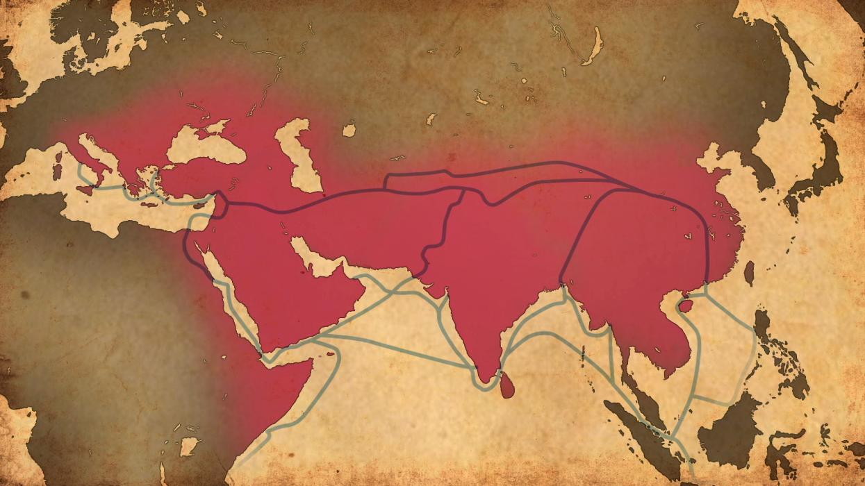 Marco Polo, Ibn Battuta, and Zheng He | Early Connectors | PBS ... on xuanzang map, zheng he map, fra mauro map, ferdinand magellan map, star wars rebels map, z nation map, sense8 map, world map, symphonia map, gutenberg map, bloodline map, bartholomew dias map, mimosa map, pirate 101 marco pollo's map, ibn battuta map, vasco da gama map, crusades map, giovanni da verrazano map, constantinople map, sir francis drake map,