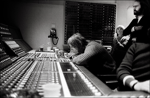 Roger Waters in the Recording Studio