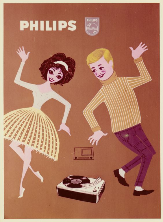 Philips 45 Player advertisement