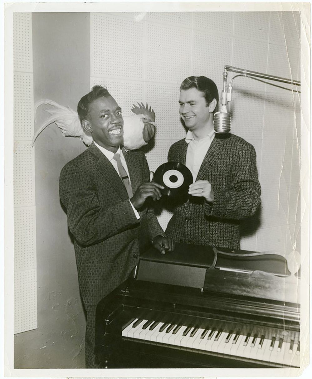 Sam Phillips and Roscoe Gordon
