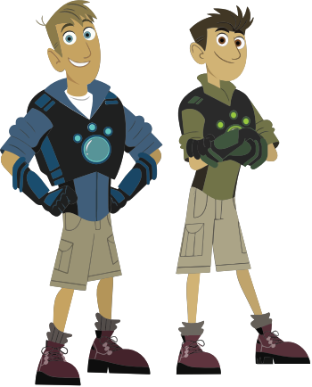 Wild Kratt - Characters