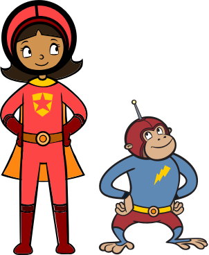 WordGirl - Character