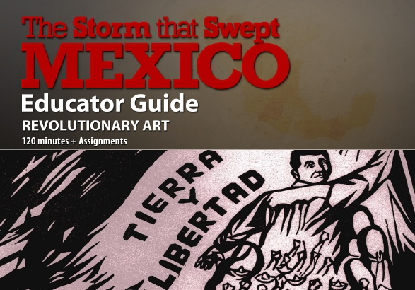 The Storm That Swept Mexico Lesson Plan Revolutionary Art Pbs
